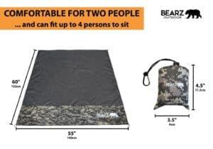 BEARZ Outdoor Blanket