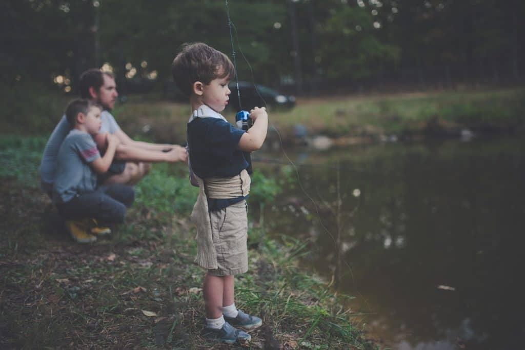 Fishing While Camping