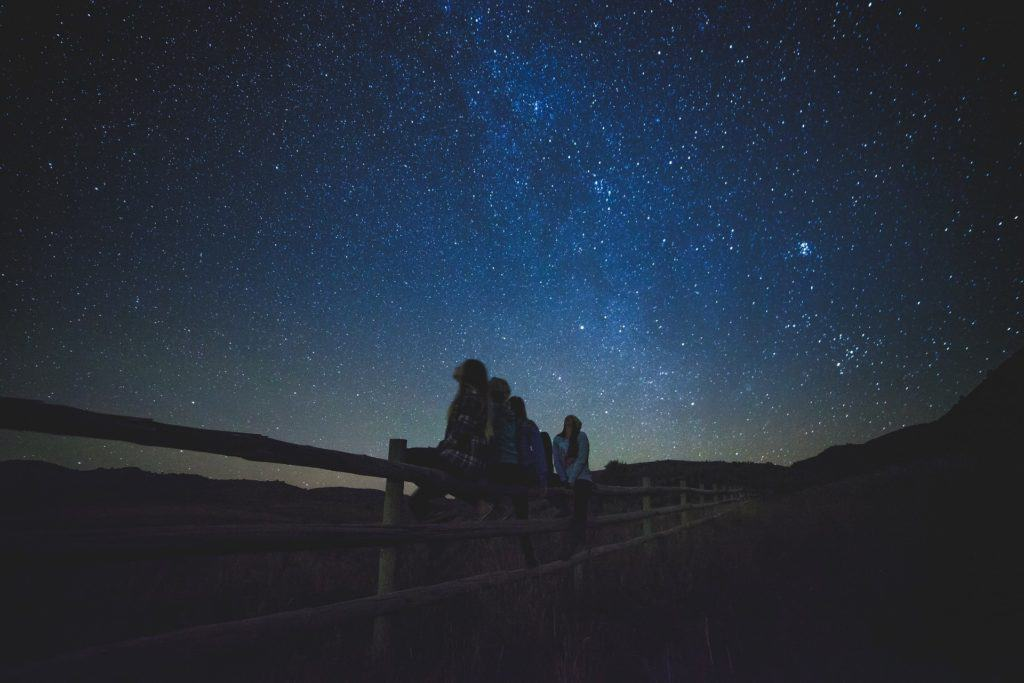 Star Gazing While Camping