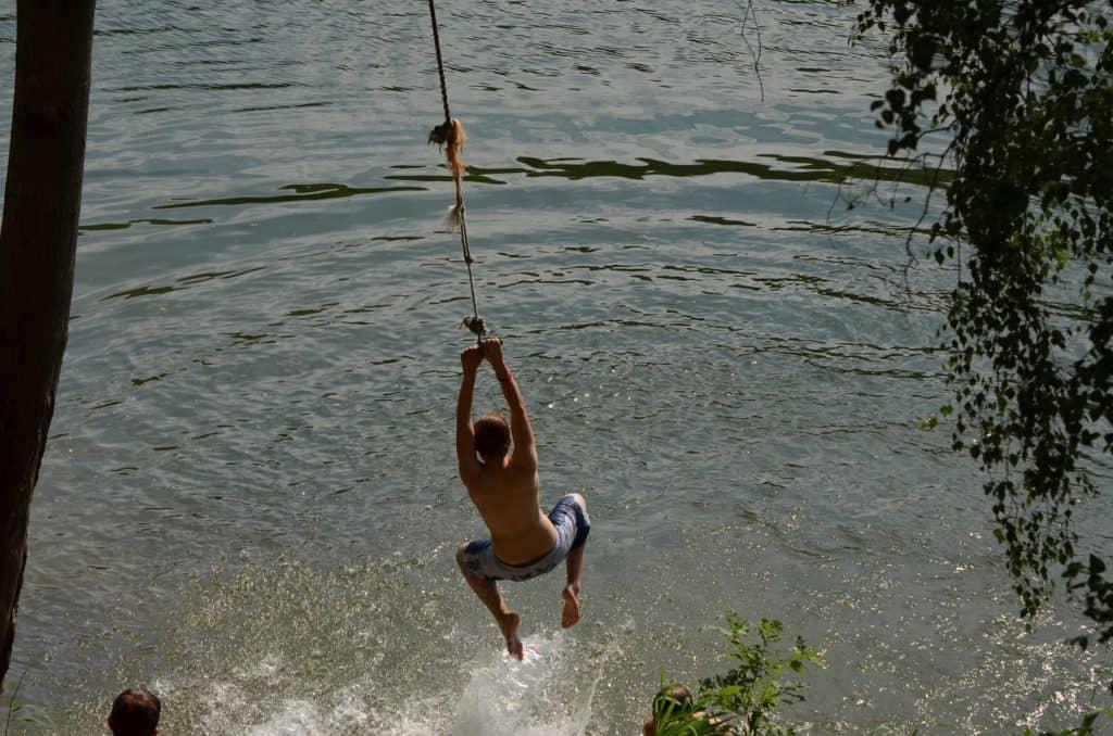 Camping Rope Swing