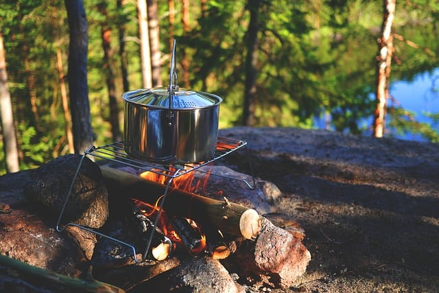 Cooking Outdoors with a Campfire