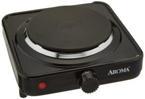Aroma Housewares AHP-303/CHP-303 Single Hot Plate.