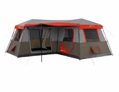 Ozark Trail 12-Person 3 Room Instant Cabin Tent