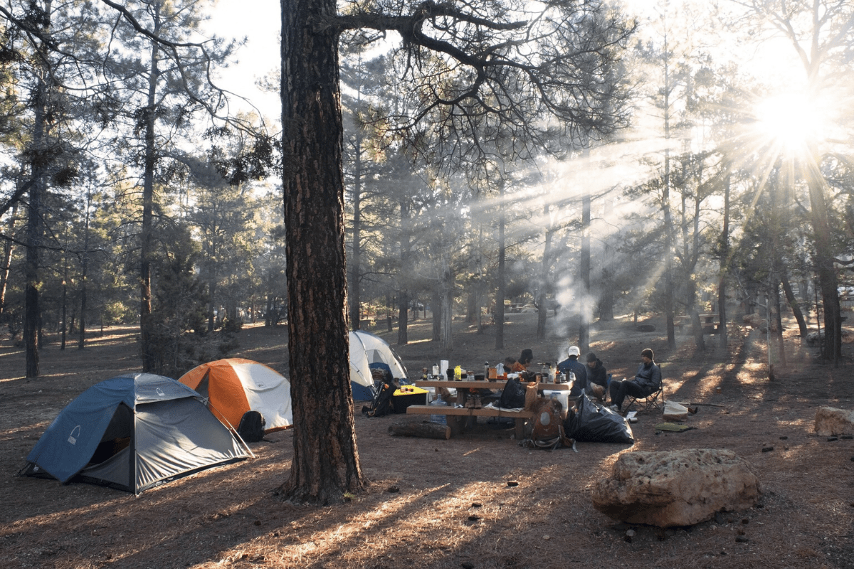how to setup the perfect campsite