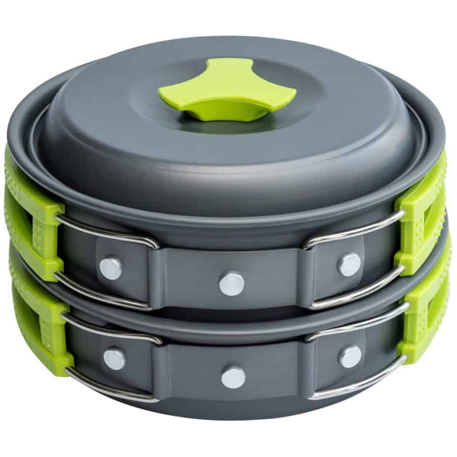 1 Liter Camping Cookware Mess Kit