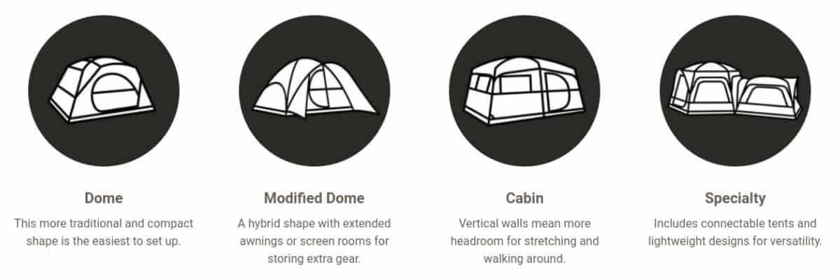 Coleman Tent Designs