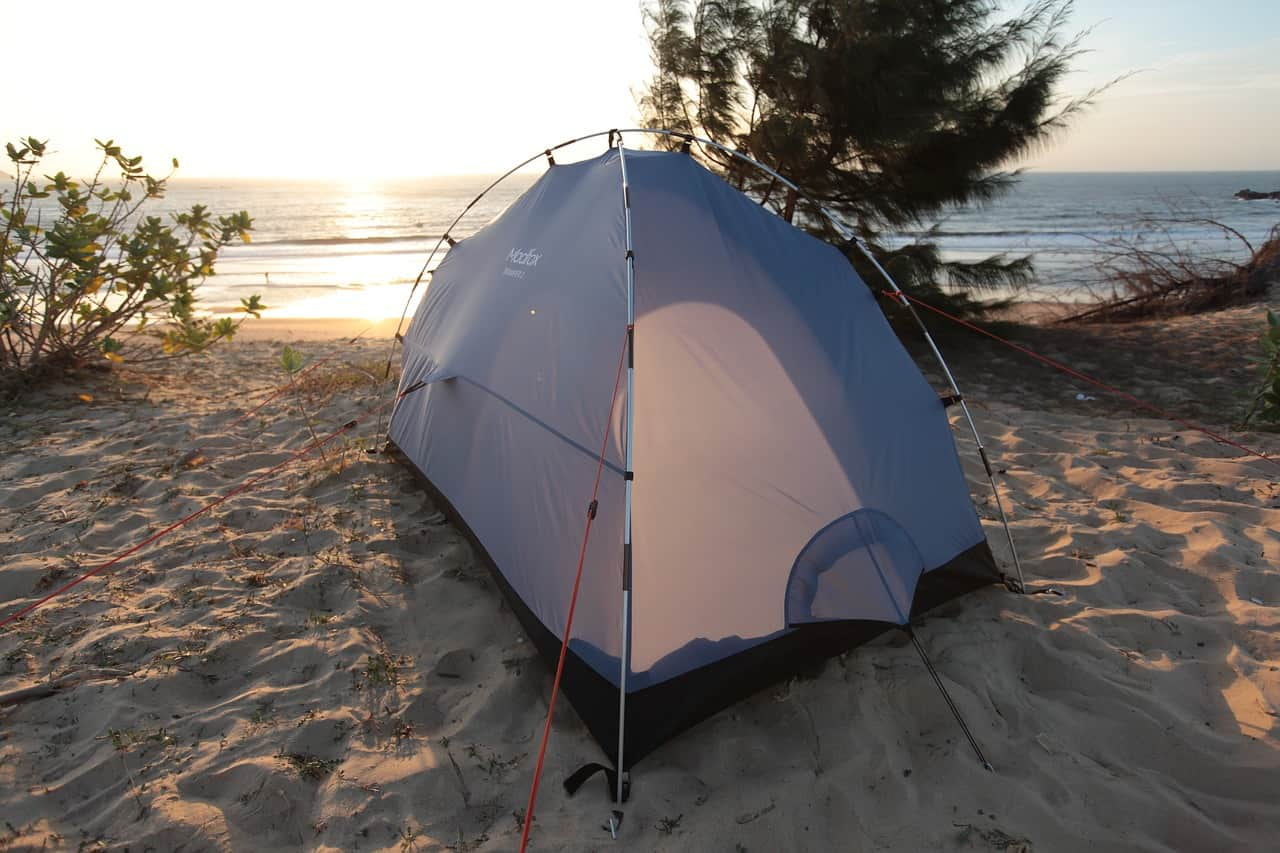 Can You Use a Camping Tent at the Beach