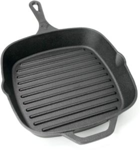 Backcountry Cast Iron Square Grill Pan