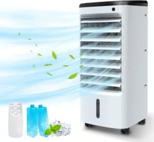 BREEZEWELL 3-IN-1 Portable Air Conditioner, Evaporative Air Cooler