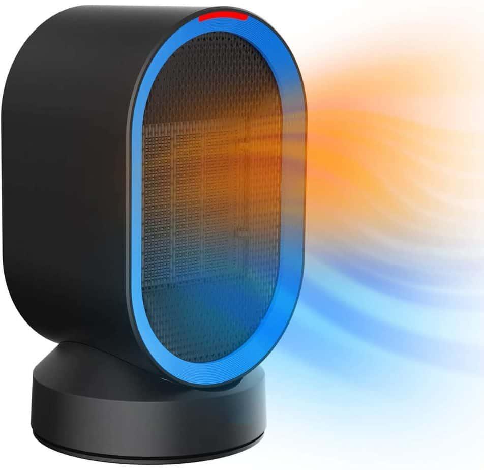 AUZKIN Fast Heating Oscillating Space Heater