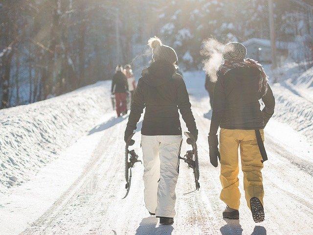 Snow Shoeing